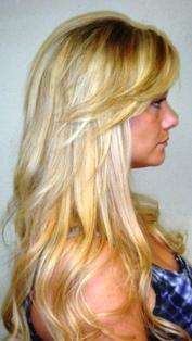 I love my hair extensions from kim client reviews hair after hair extensions back view pmusecretfo Gallery