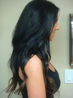 Portland oregon hair extensions hair extensions photo gallery after hair extensions side view pmusecretfo Images