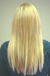 Client hair extensions portland oregon hair extensions photo after hair extensions back view pmusecretfo Images